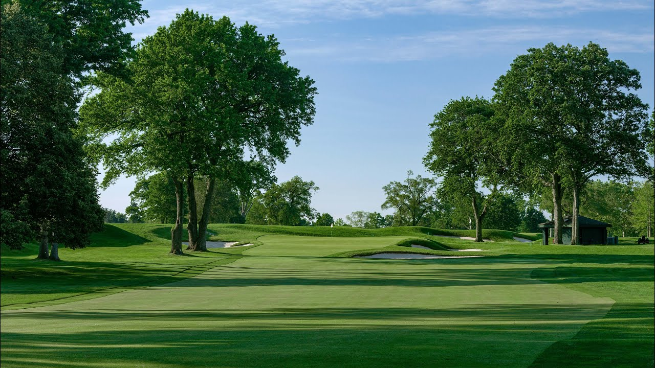 2020 U.S. Open: Winged Foot Flyover - Hole No. 16