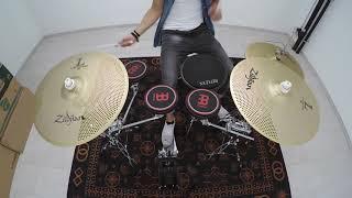 Drummer Practice Setup