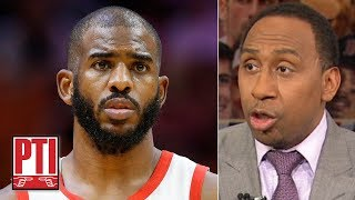 Chris Paul could join LeBron on the Lakers if he allows OKC to buy him out - Stephen A. | PTI
