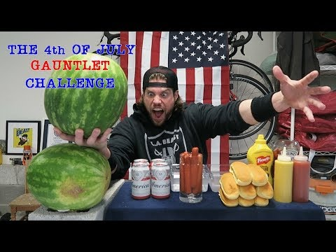 The 4th of July Gauntlet Challenge Doesn't Go As Planned | L.A. BEAST