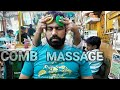 Asmr comb head massage with neck cracking by sarwan.