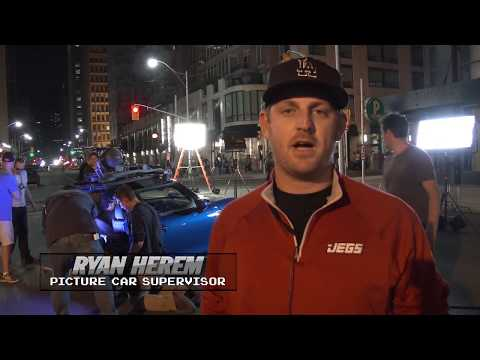 PIXELS - Behind-The-Scenes - Ghost Car Chase