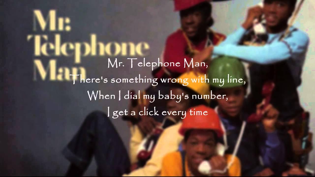 New Edition Mr Telephone Man Youtube