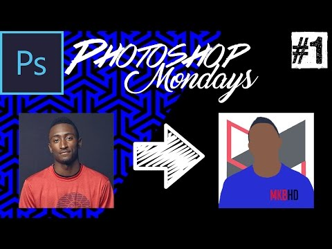Photoshop Mondays #1: Create a MKBHD-styled cartooned Profile Picture/Logo in Photoshop CS6/CC