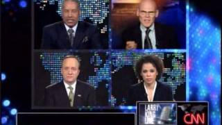 Larry King: James Carville on the Stimulus Package