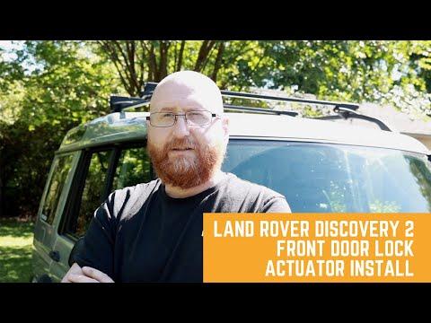 Land Rover Discovery 2// Front Door Lock Actuator Install(DIY)
