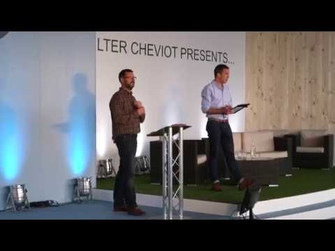 Richard Ballard from Growing Underground at The Quilter Cheviot Theatre, BBC Countryfile Live 2017
