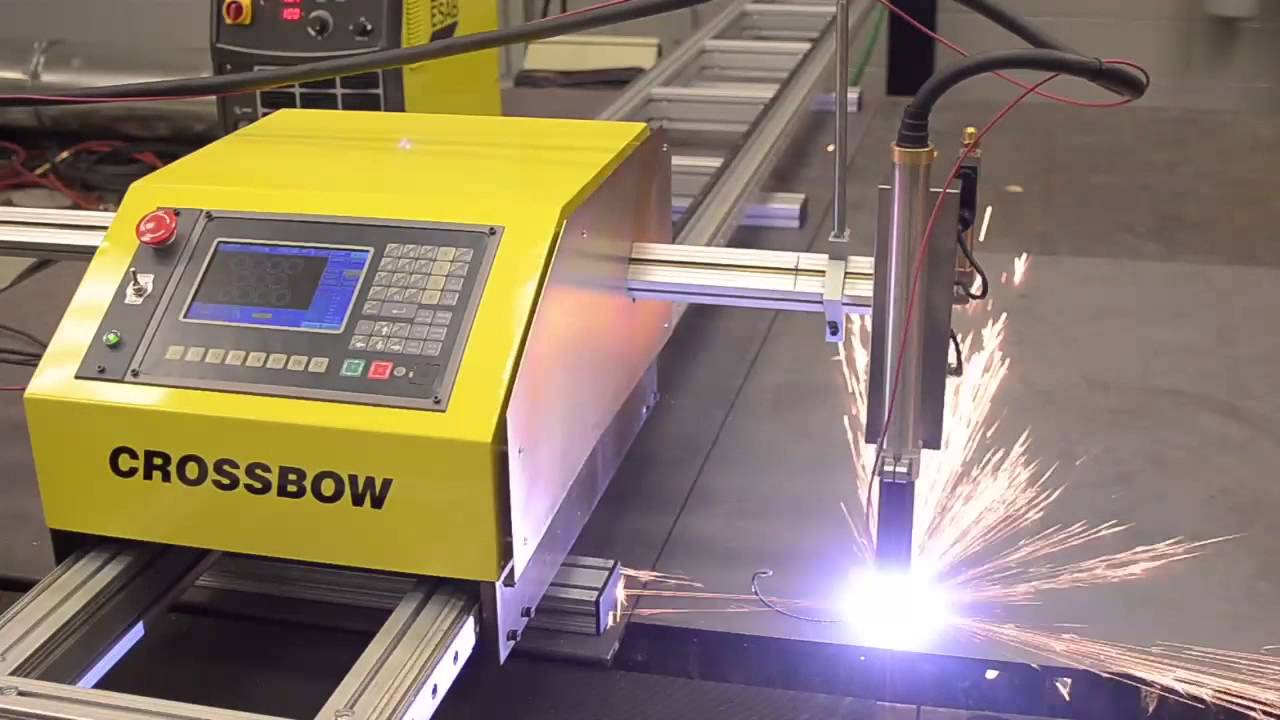 Crossbow Portable Cnc Plasma Cutting Machine English