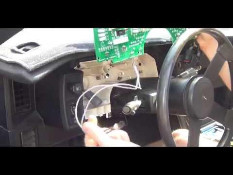 3rd gen camaro cluster install