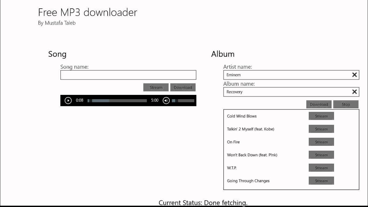free music downloader for windows 8