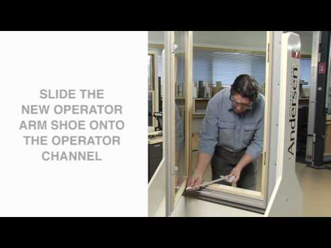 How to Replace a Straight Arm Casement Operator