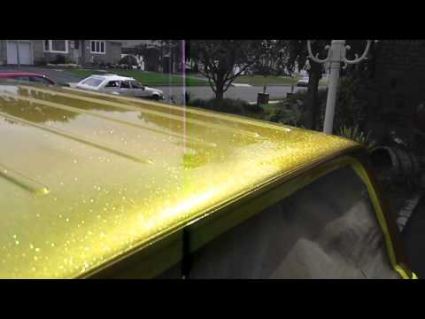 Metal Flake On The Wet Wet In The Sun (HD)