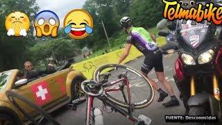 MOMENTOS DIVERTIDOS, CURIOSOS Y RABIOSOS del mundo del Ciclismo :-)