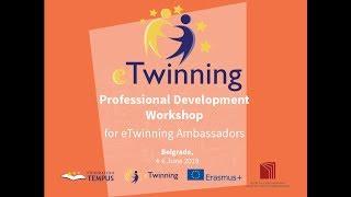 Professional Development Workshop for eTwinning Ambassadors 2018 thumbnail