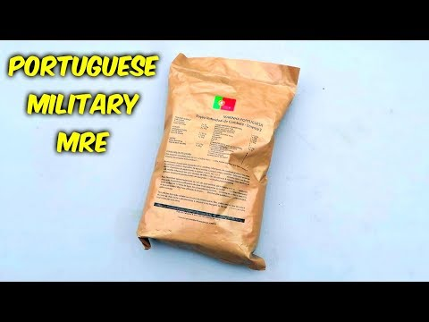 Thumbnail: Testing Portuguese MRE Meal Ready to Eat