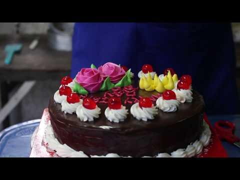 """สอนทำเค้กวันเกิด """"ง่ายๆใครๆก็ทำได้"""""""