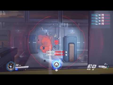 Overwatch Sextuple Kill Training