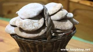 Tortos de pan integral. Receta de mi cuñado