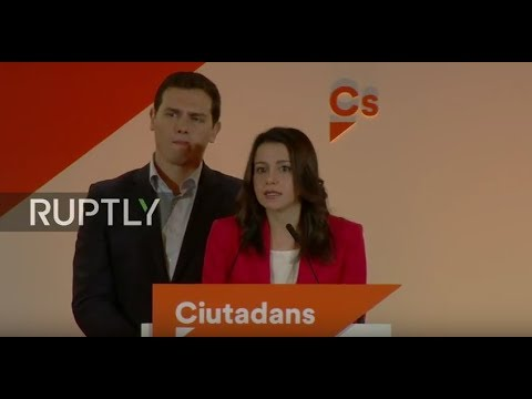 LIVE: Ciutadans Party press conference following Catalan elections