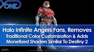 "Halo Infinite Angers Fans, Replaces Color Customization With Monetized Shaders Called ""Coatings"""