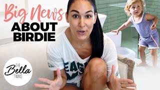 Brie prepares for Birdie's POTTY TRAINING!