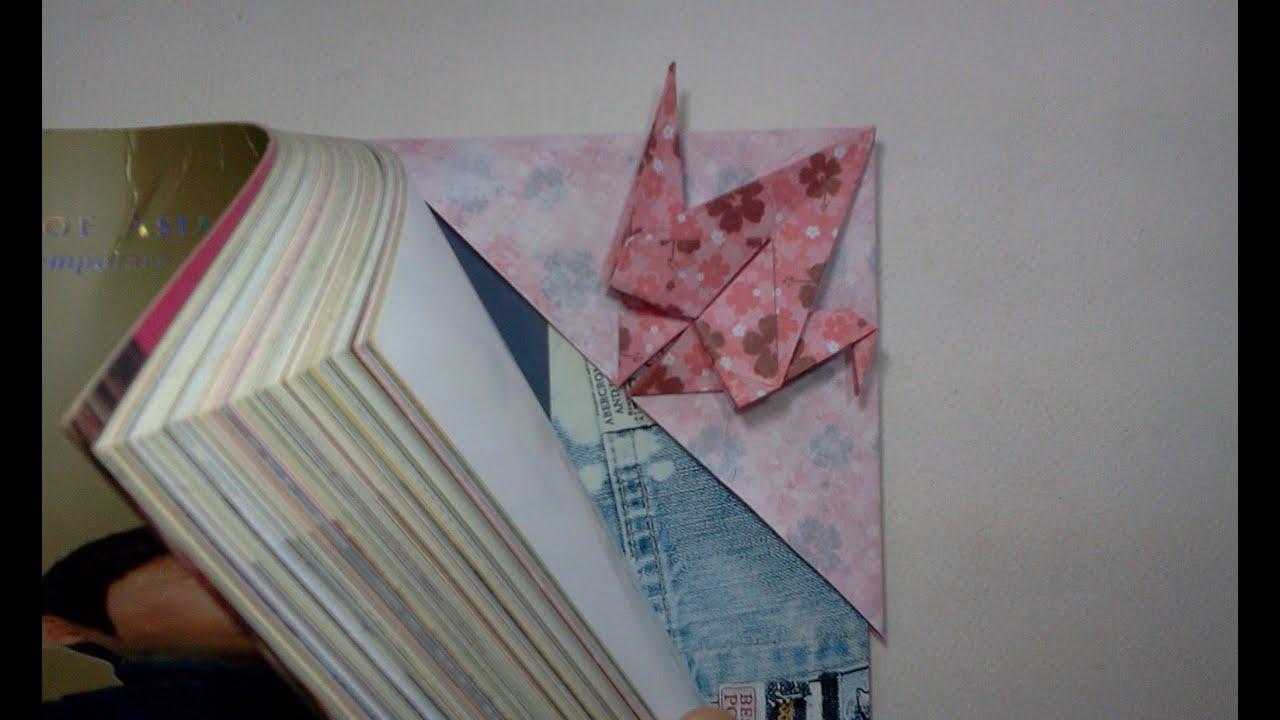 Origami Bookmark | 720x1280