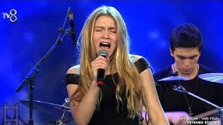 Aleyna Tilki - Uzun İnce (Yetenek Sizsiniz Yarı Final Performansı) Full HD