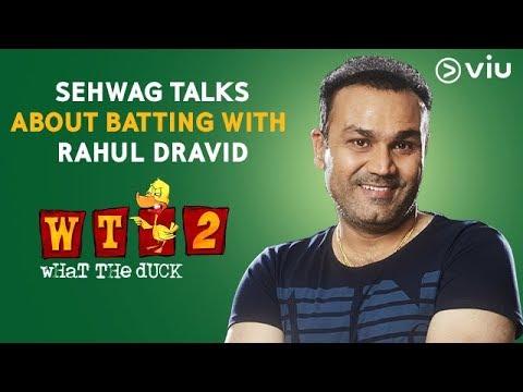 Sehwag Talks About Batting With Rahul Dravid | Vikram Sathaye | What The Duck Season 2 | Viu India