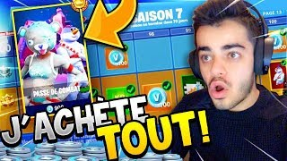 FORTNITE - I BUY ALL THE CROSS OF COMBAT SAISON 7 - DECOUVERTE!!