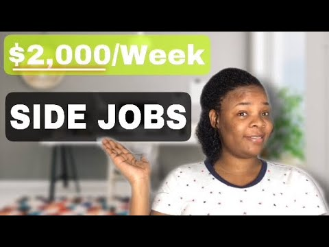 SIDE HUSTLE IDEAS FOR 2021 (WORK FROM HOME)
