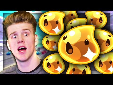 GOLD SLIMES EVERYWHERE! | Slime Rancher w/Lachlan #6