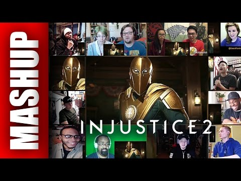 Injustice 2 DOCTOR FATE Reveal Gameplay Trailer Reactions Mashup