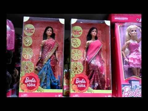Barbie videos - Beautiful Barbie Princess with Sarees