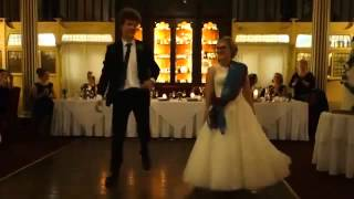Best Ever Couple Dance: British Couple dancing on 'London Thumakda'