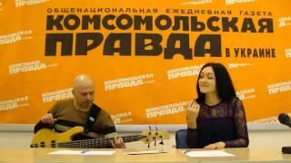 Бас-гітарист Ігор Закус та співачка Іванка Червинська - пісня 1