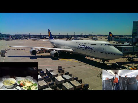 [Tripreport] | DUS-FRA-LAX | Boeing 747-8I | Lufthansa Business Class