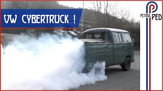 Download 450hp Tesla powered 1969 VW Crew Cab - UTTERLY INSANE ! Mp3 and Videos