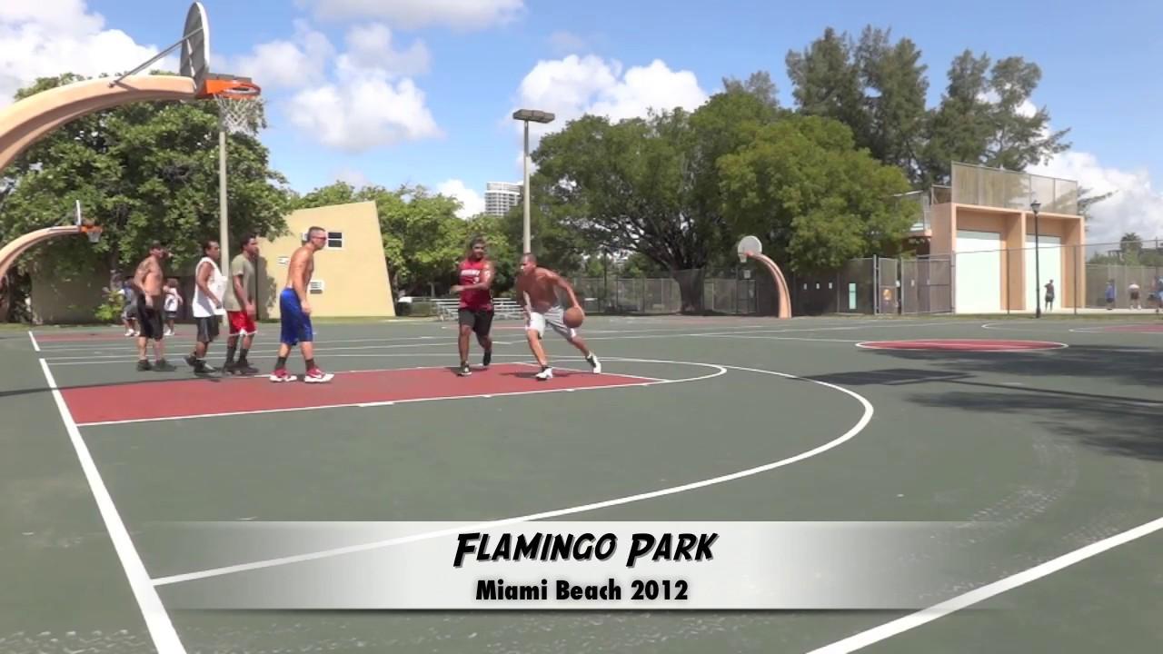 Flamingo Park Miami Beach Basketball