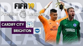 Cardiff vs Brighton | FIFA 19 Premier League Gameweek 12