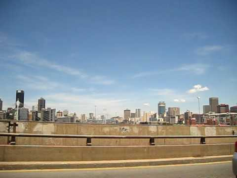 South Africa - the skyline of johannesburg