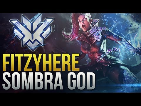 Fitzyhere - NA RANK 1 SNEAKIEST SOMBRA - Overwatch Montage