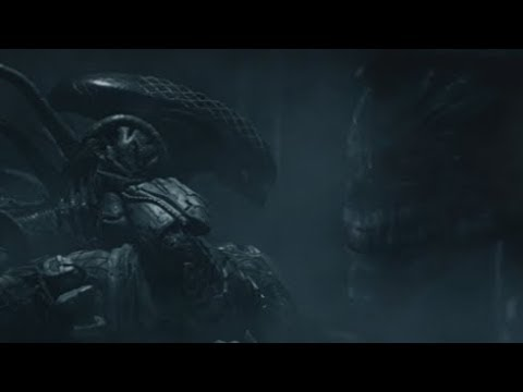 """Was """"Grid"""" molting into a Xenomorph Queen? - Explained"""