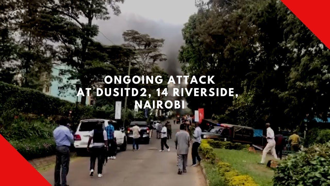 Terrorists attack Dusit hotel in Nairobi