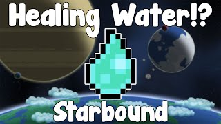 Healing Water!? - Starbound Unstable/Nightly Build