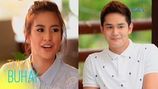 Tunay na Buhay: Gabbi Garcia and Ruru Madrid reveal their relationship status