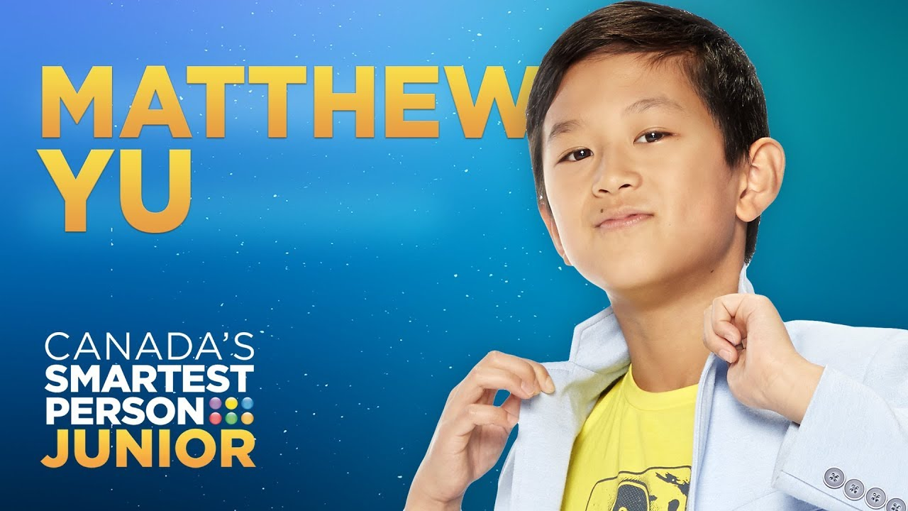 Matthew Yu, a math-savvy figure skater | Canada's Smartest Person Junior
