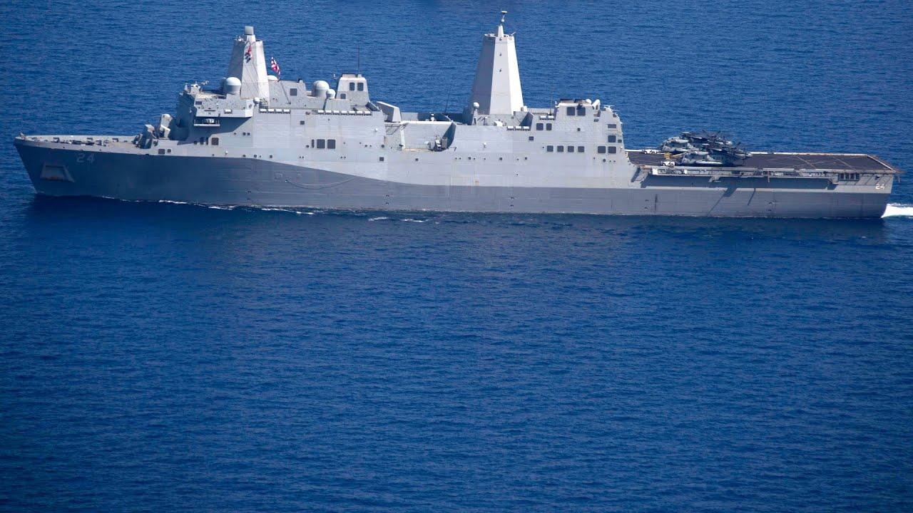 USS Arlington (LPD 24) Ship Tour