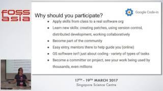 Google Code-In - Stephanie Taylor - FOSSASIA Summit 2017