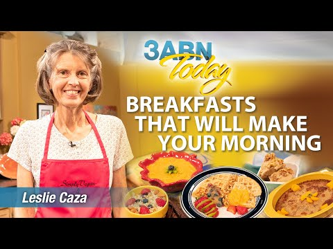 """3ABN Today Cooking - """"Breakfasts That Will Make Your Morning"""" with Leslie Caza (TDYC018030"""