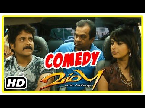 Vambu Tamil Movie | Comedy Scenes | Nagarjuna | Anushka | Priyamani | Brahmanandam